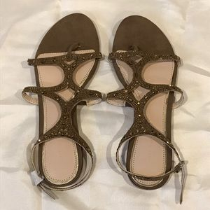 ZARA Embellished Sandals (size 37)
